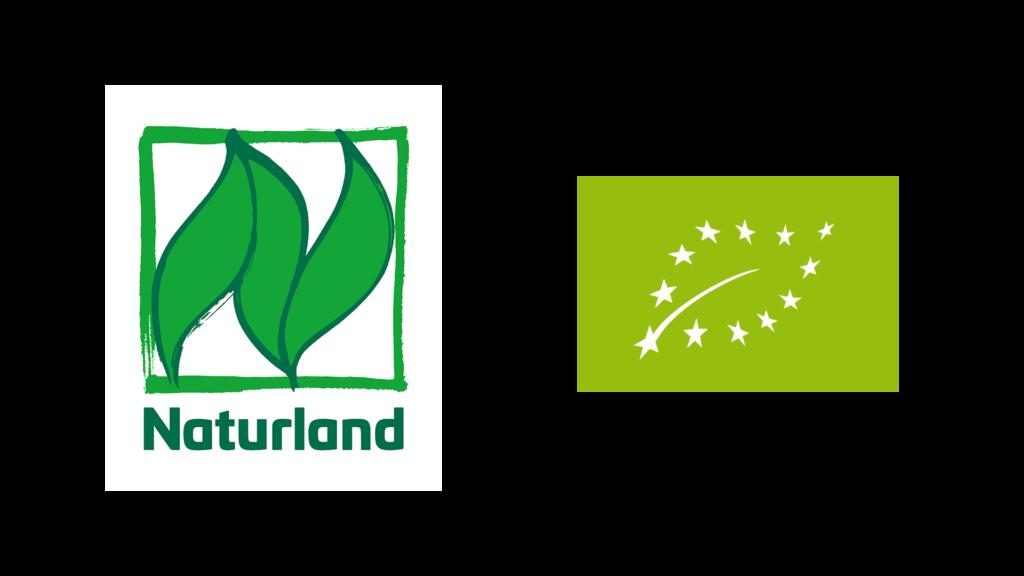 Bio-Siegel Naturland und EU